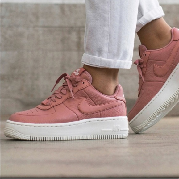 newest collection 683cf 3673a NWT Nike Air Force 1 Upstep Pink WMNS